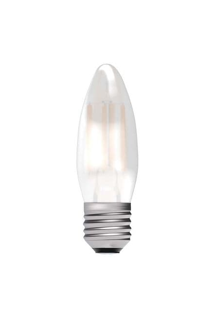BELL 05314 4W LED Dimmable Filament Candle ES Satin 2700K